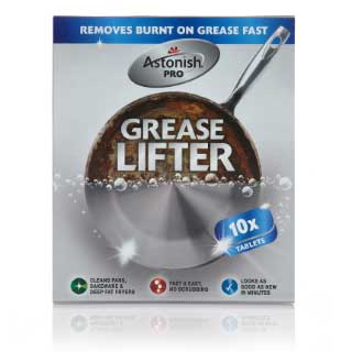 Astonish Grease Lifter, 10 tabletes